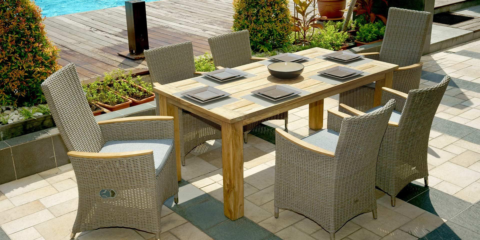 Gartenmöbel für den perfekten Sommer