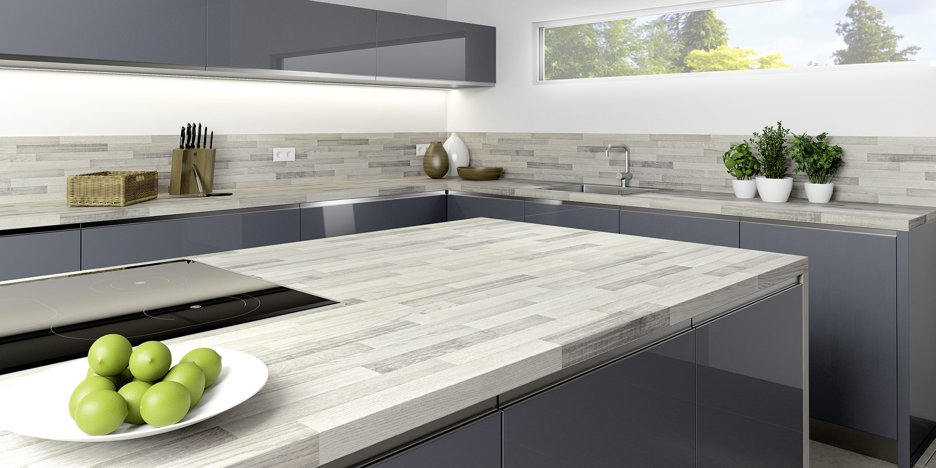 Ungewöhnlich Küchenarbeitsplatten Optionen Fotos - Ideen Für Die ...