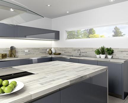 Küchenarbeitsplatten und Zubehör
