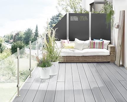 WPC- und BPC-Dielen für die Terrasse