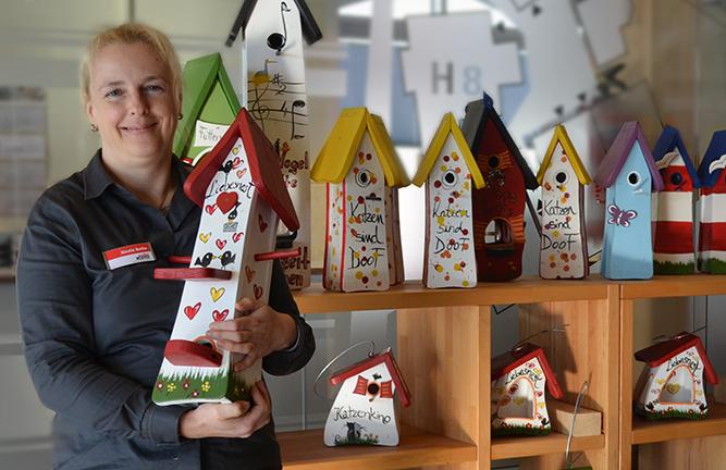 Vogelhaus Vogelvilla Sonderpreise bei Holzland Köster in Emmerke