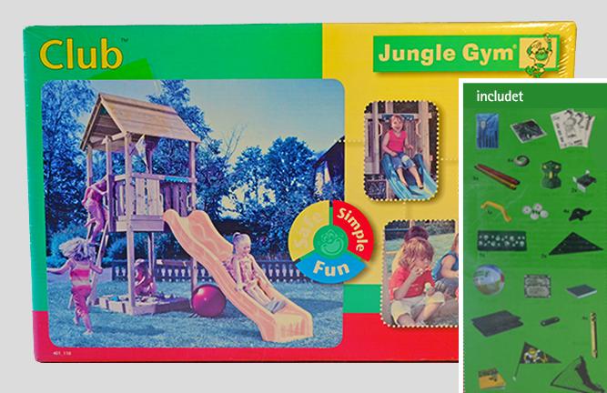 Angebot Abverkauf Gungle Gym Bausatz Spielturm Club ohne Holz