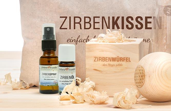 Zirbenholz Accessoires Zirbenspray von Holzland Köster in Hildesheim