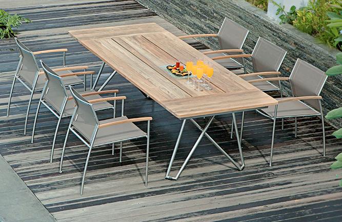 Gartenmöbel Tischgruppe Rovex