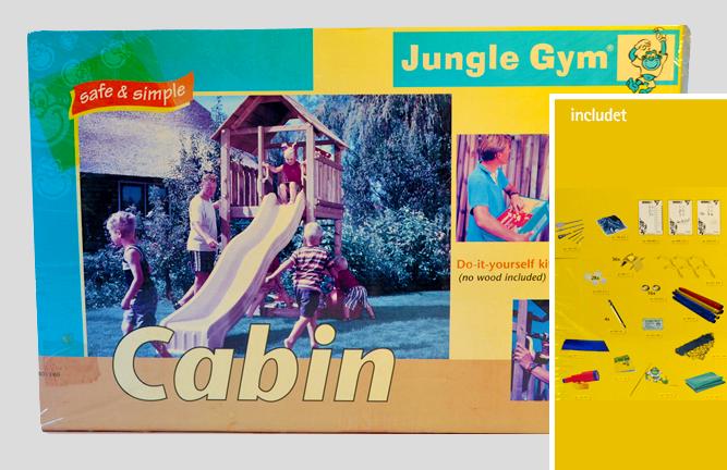 Angebot Abverkauf Gungle Gym Cabin Bausatz Spielturm ohne Holz