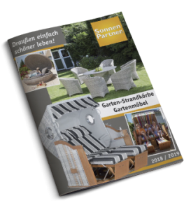 Katalog Garten-Strandkörbe Sonnenpartner