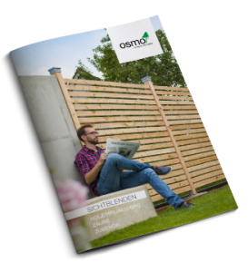 Sichtschutz Katalog Holz, HPL, Alu, BPC Osmo