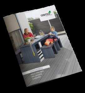 Terrassen Katalog Osmo, Holz und BPC