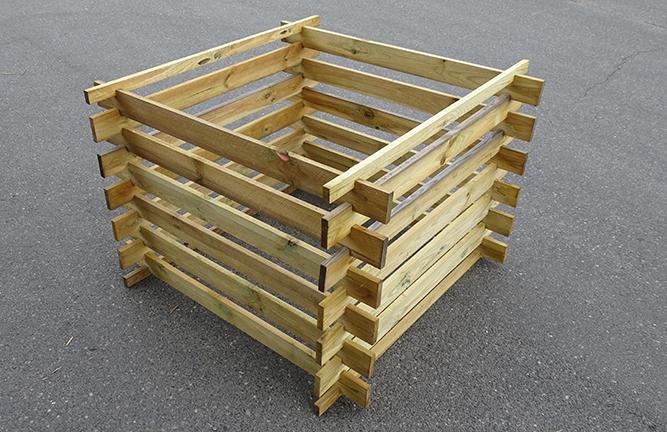Angebot Komposter-Bausatz Kiefer