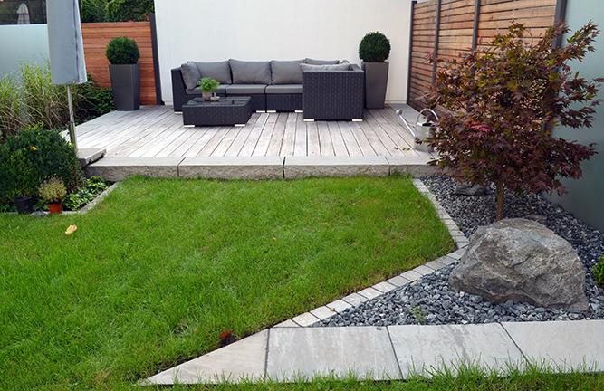 Wetterfeste Garten Lounge Sitzgruppe Tivoli Zebra