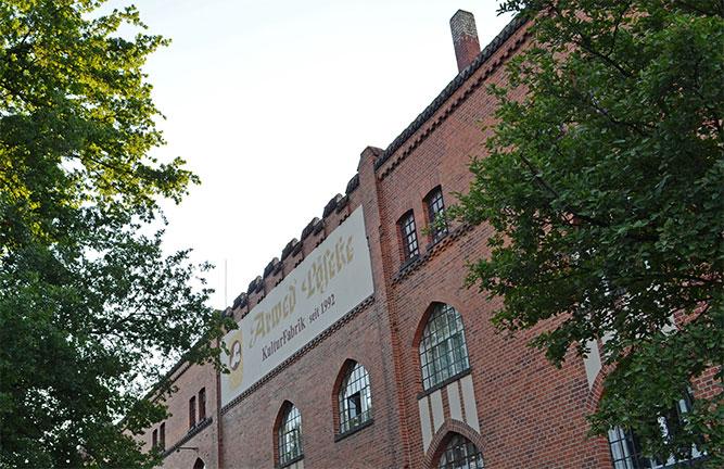 Gebäude Kulturfabrik Löseke