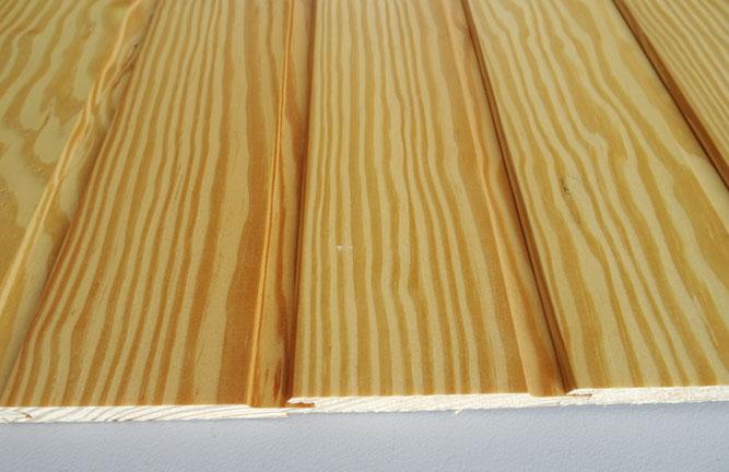 Restposten Red Pine Profilholz