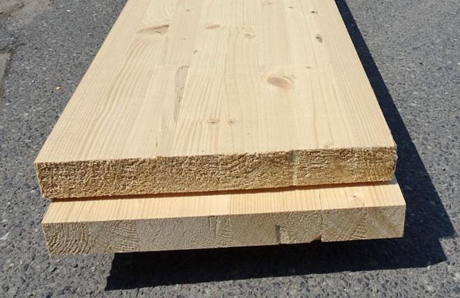 Restposten Angebot Nordische Fichte Brettschichtholz