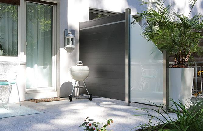 sichtschutz garten holzland k ster emmerke. Black Bedroom Furniture Sets. Home Design Ideas