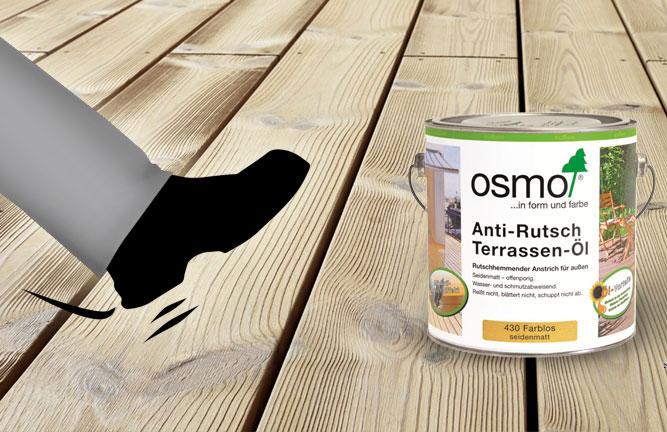 Anti-Rutsch-Terrassen-Öl von Osmo