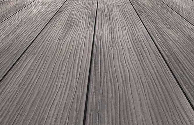 Terrassendiele Terracon-Thermo-WPC, grau