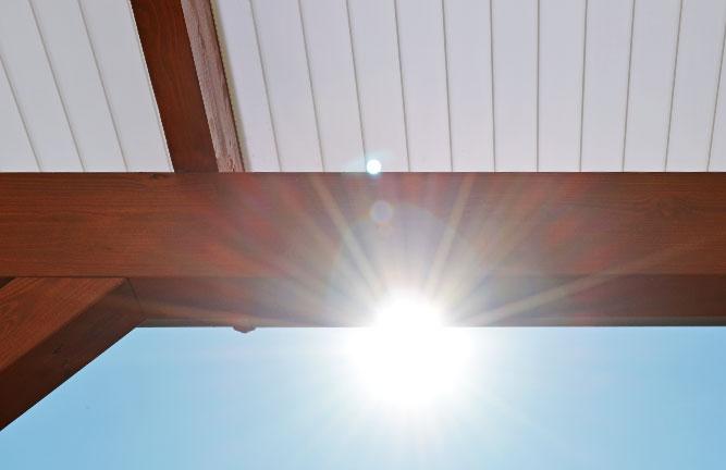 Plexiglas Heatstop® Stegplatte Cool Blue