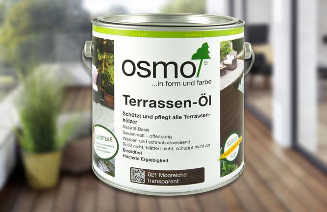 Terrassen-Öl Mooreiche