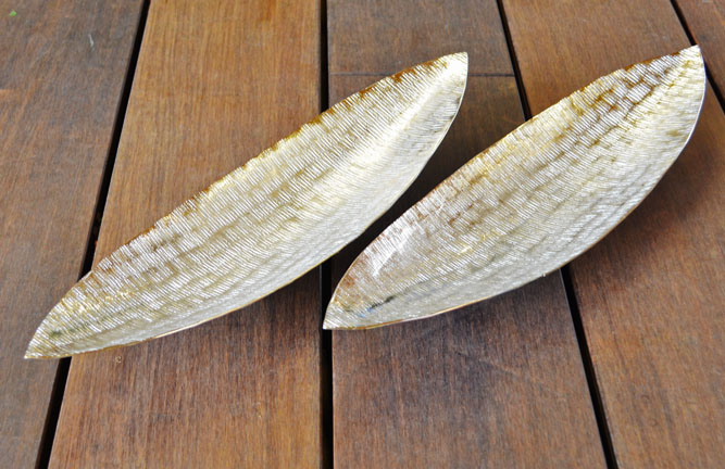 Wohnaccessoires, Alu-Boot