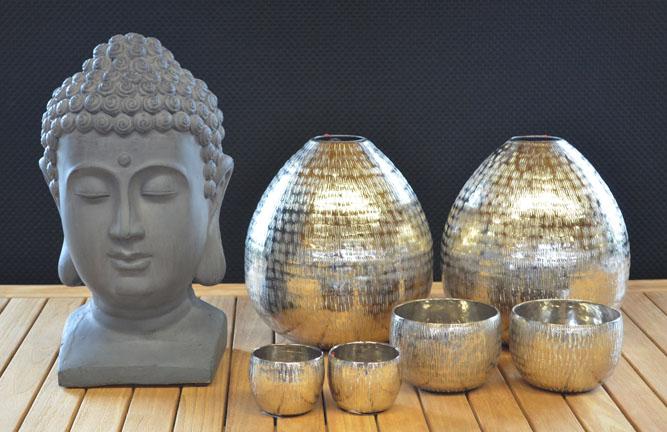 Tischedeko mit Buddha