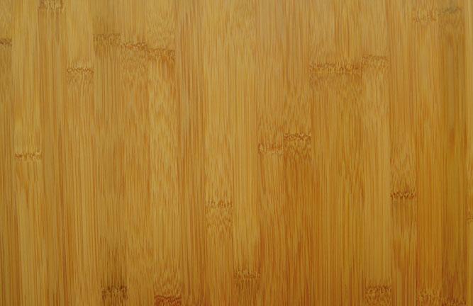 Ansicht Bambus Massivholzplatte Breitlamelle