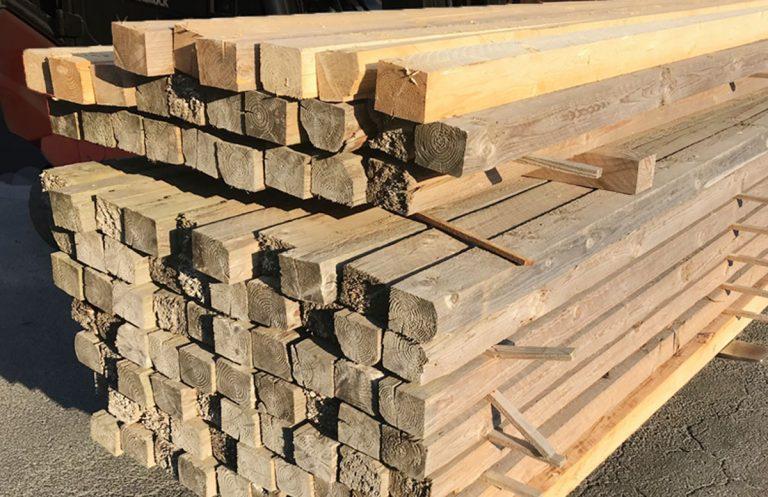 Bau-Kantholz Fichte