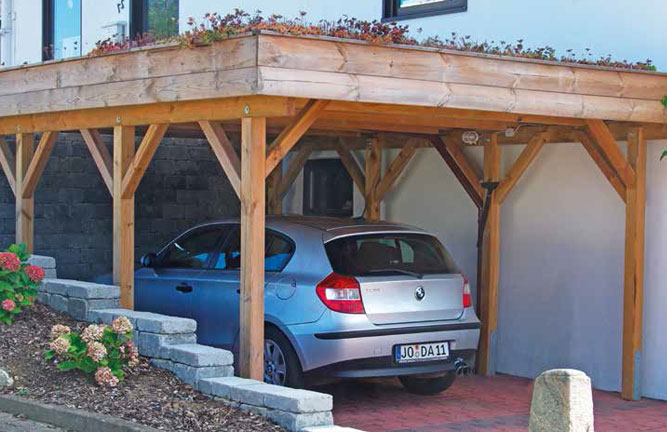 Carports holzland k ster bei hildesheim for Carport flensburg
