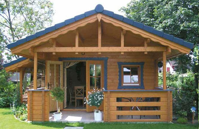 Gartenhaus in Exclusiv-Bauweise