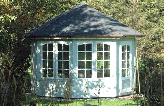 Gartenhaus in Pavillonbauweise