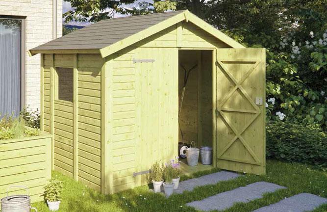 Gartenhaus Nordic Elementbauweise