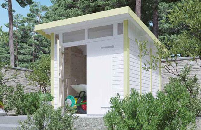 Gartenhaus Vestervik Elementbauweise