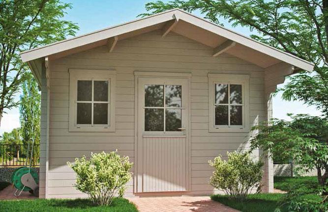 Gartenhaus Landhaus mit Vordach