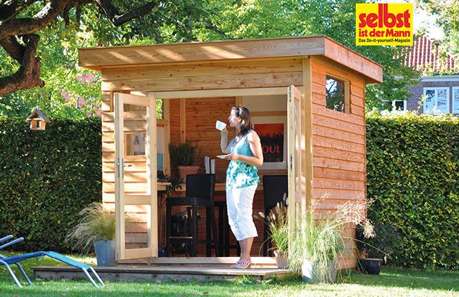 Gartenhaus Freestyle als Arbeitsraum im Grünen