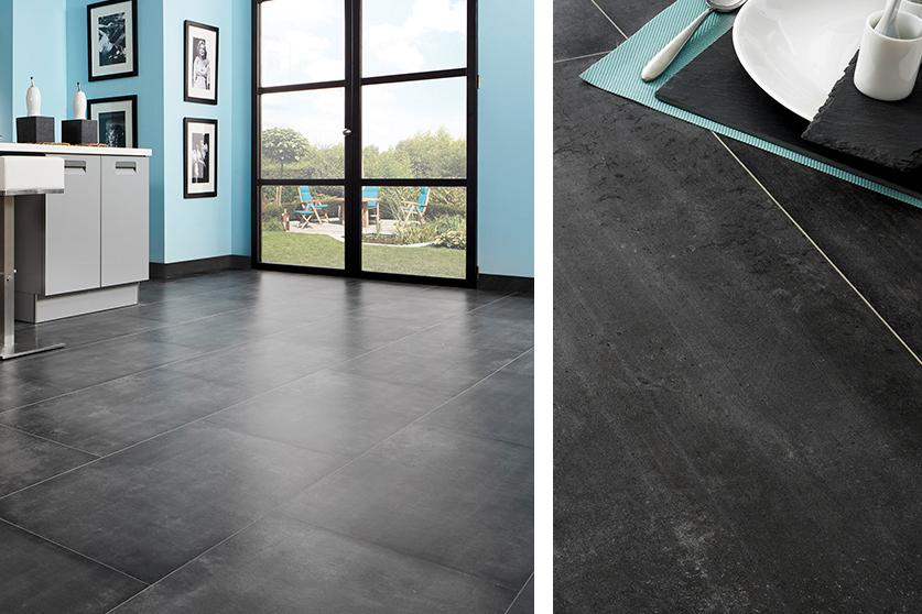 JAVA-Mineraldesign Boden, Steindesign, Dekor Artbeton Scuro