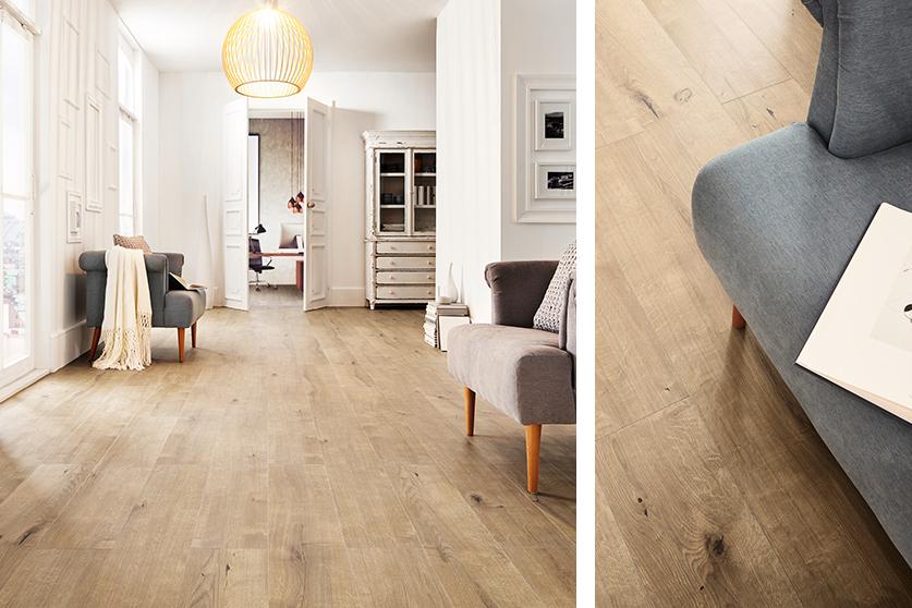 JAVA-Mineraldesign Boden, Holzdesign, Dekor Kaisereiche