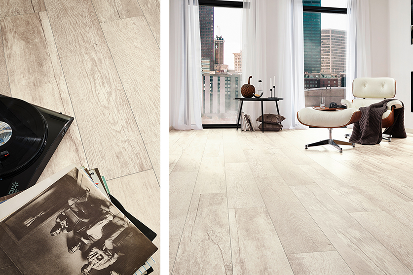 JAVA-Mineraldesign Boden, Holzdesign, Dekor Petunia Avorio