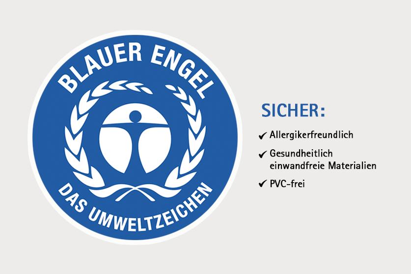 """Java Boden ausgezeichnet mit dem """"Blauen Engel"""""""