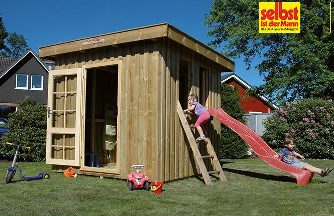Gartenhaus Freestyle als Spielhaus