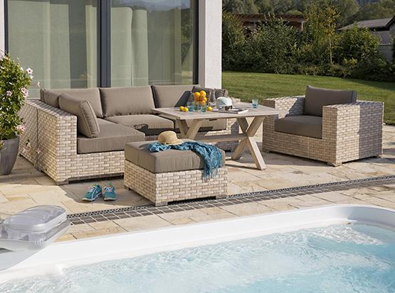 Gartenmöbel, Loungegruppe Toulouse