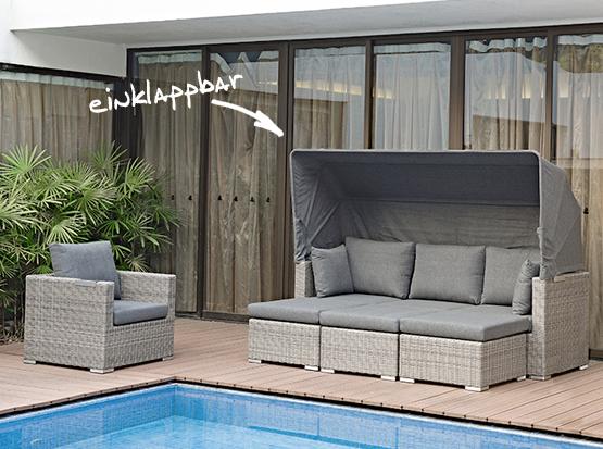 Gartenmöbel, Jack Lounge Comfort