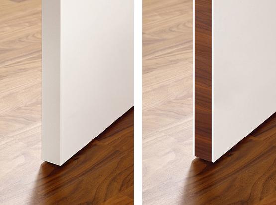 Holzland Köster, Tür mit und ohne Sandwichkante