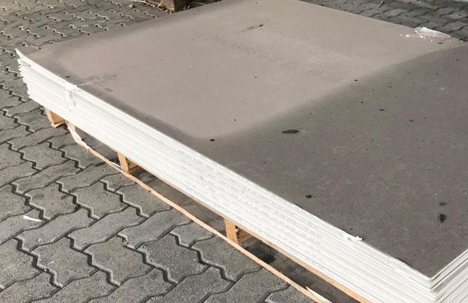 Holzland Köster, Gipskarton Bauplatten 2. Wahl