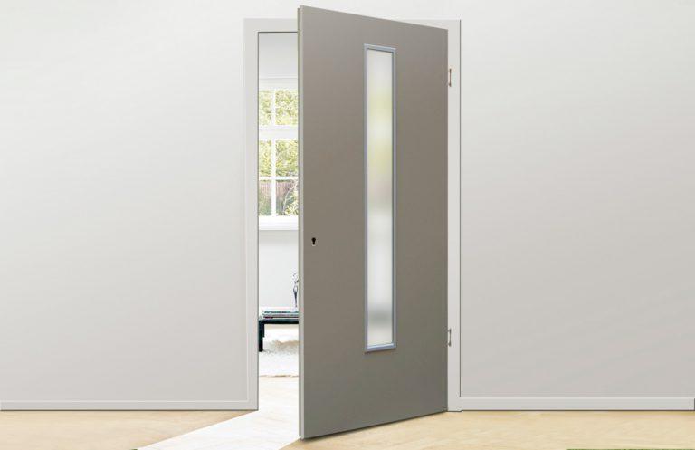 Holzland Köster, Feuchtraum Tür mit Lichtausschnitt