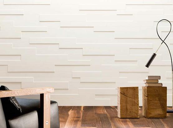 Wand und Decke: Systempaneele Nova, weiß