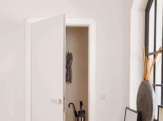 Türen mit Sandwichkante Bianco