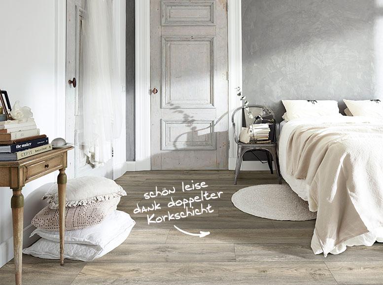 Vinylboden MeisterDesign.comfort, Dekor Wildeiche grau
