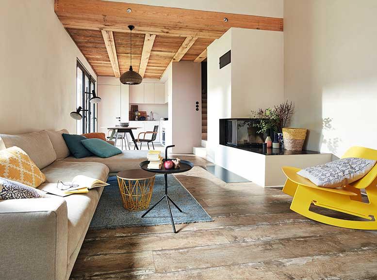 Vinylboden ohne Vinyl, MeisterDesign.comfort, HolznachbildungCabin Board