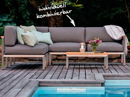 Lounge Gomera, Modulgruppe, individuell kombinierbar