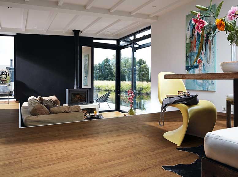 Vinylboden MeisterDesign.comfort, Holznachbildung Golden Oak