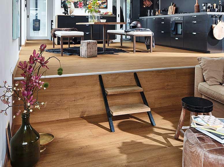Designboden MeisterDesign.pro, Holznachbildung Golden Oak